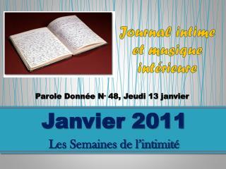 Journal intime et musique intérieure