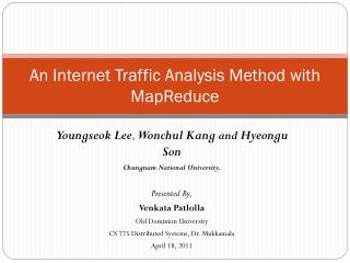An Internet Traffic Analysis Method with MapReduce