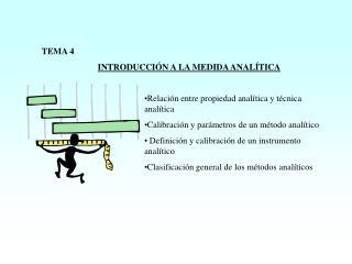 TEMA 4 INTRODUCCIÓN A LA MEDIDA ANALÍTICA