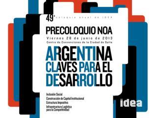 Perspectivas para la economía Argentina