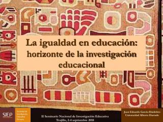 Juan Eduardo García-Huidobro Universidad Alberto Hurtado
