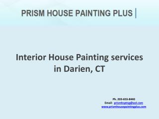 Interior House Painting services in Darien, CT