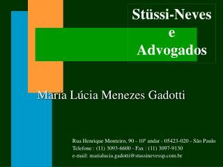 Stüssi-Neves e Advogados