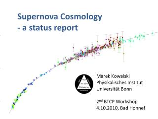 Supernova Cosmology - a status report