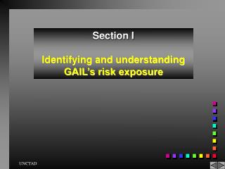 Section I Identifying and understanding GAIL's risk exposure