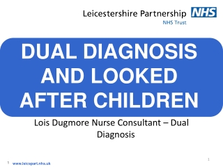 Dual Diagnosis In Young People