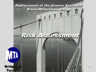 Replacement of the Queens Approach Bronx-Whitestone Bridge