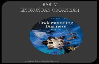 BAB IV LINGKUNGAN ORGANISASI