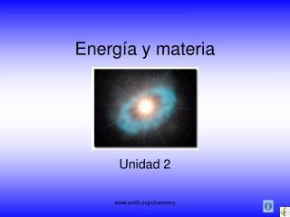 Energía y materia