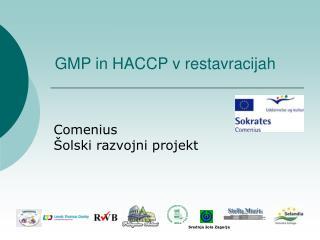 GMP in HACCP v restavracijah