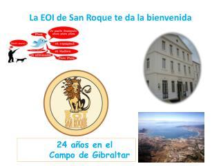La EOI de San Roque te da la bienvenida