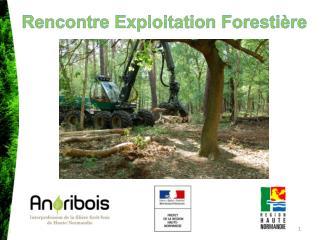 Rencontre Exploitation Forestière