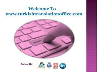 Turkish to English Translator with localization capacity