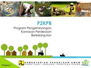 Program Pengembangan Kawasan Perdesaan Berkelanjutan