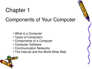 Chapter 1 Components of Your Computer