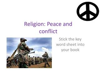 religion source of conflict or peace