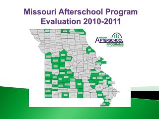 Missouri Afterschool Program Evaluation 2010-2011
