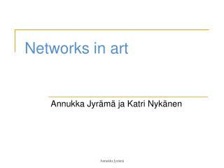 Networks in art