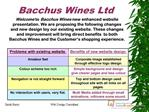 Bacchus Wines Ltd
