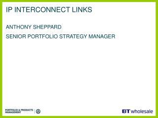 IP INTERCONNECT LINKS