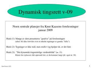 Dynamisk tingsrett v-09
