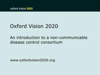 Oxford Vision 2020