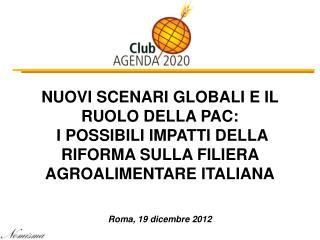 Roma, 19 dicembre 2012