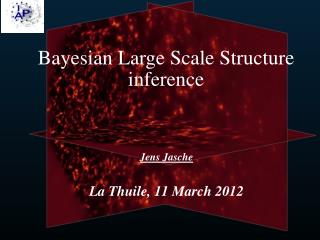 Bayesian Large Scale Structure inference