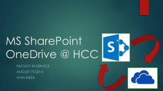 MS SharePoint OneDrive @ HCC