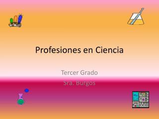 Profesiones en Ciencia