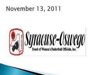 November 13, 2011