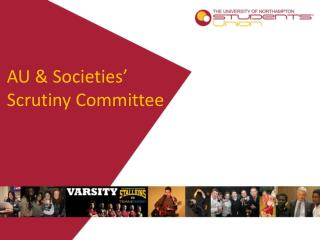AU & Societies' Scrutiny Committee