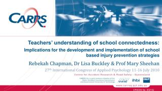 Rebekah Chapman, Dr Lisa Buckley & Prof Mary Sheehan