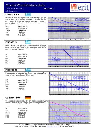 Merit@WorldMarkets.daily Technical Comment   2 8 / 11/2002 ank@merit.gr