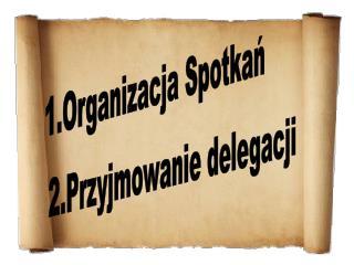 1.Organizacja Spotkań