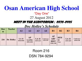 Room 216 DSN 784-9294