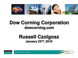 Dow Corning Corporation dowcorning
