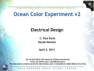 Ocean Color Experiment v2