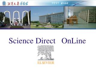 Science Direct   OnLine