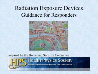 Radiation Exposure Devices  Guidance for Responders