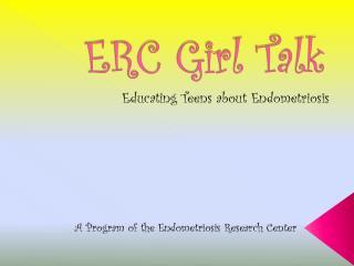 ERC Girl Talk