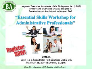 League of Executive Assistants of the Philippines, Inc. (LEAP)