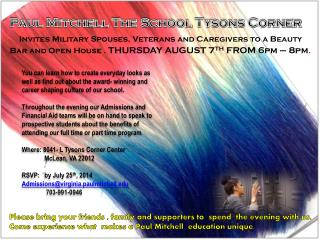 Paul Mitchell The School Tysons Corner