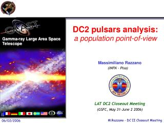DC2 pulsars analysis: a population point-of-view