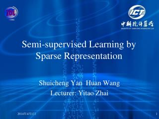 Semi-supervised Learning by Sparse Representation
