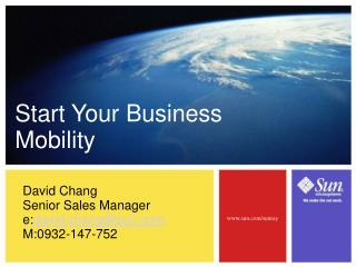 Start Your Business Mobility