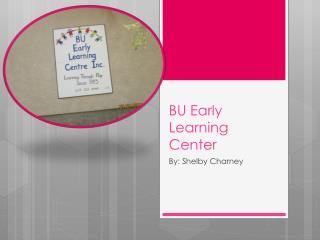 BU Early Learning Center