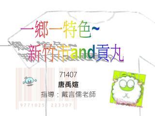 71407 唐禹媗 指導:戴言儒老師