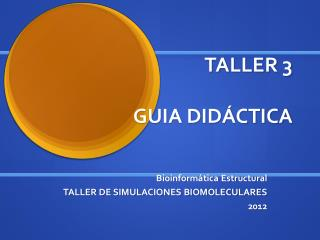 TALLER 3 GUIA DIDÁCTICA