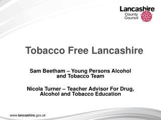 Tobacco Free Lancashire